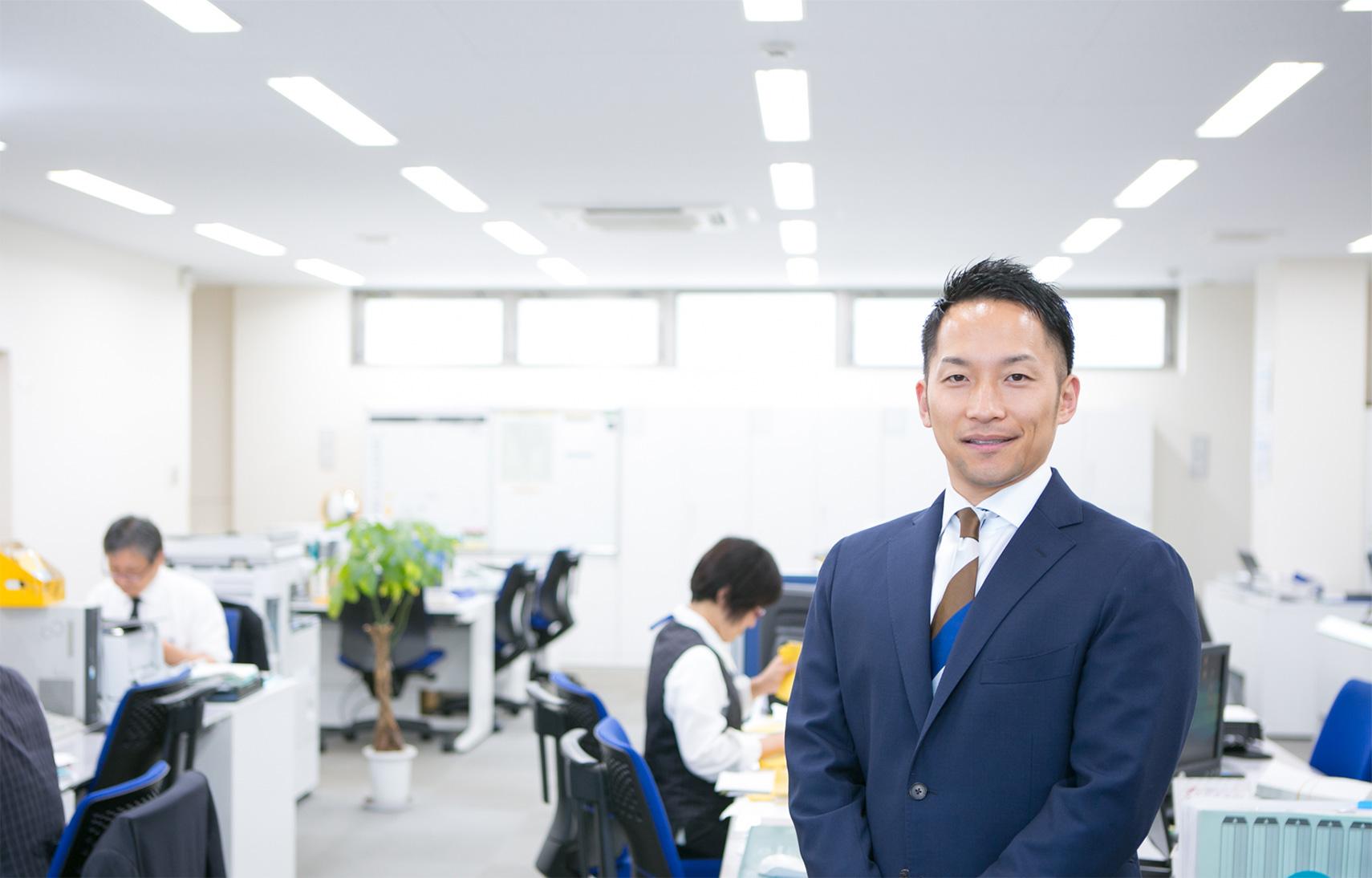 「どうすれば多くの人に喜んでもらえるか」そこにこだわってみませんか? 取締役 営業部長 波田 宗樹